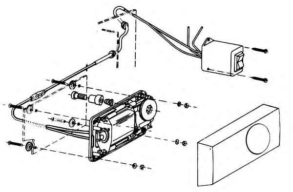 Электродвигатель, стеклоподъемник